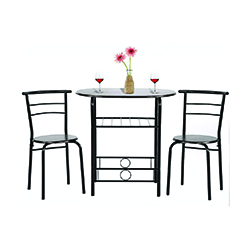 PayLessHere 3 Piece Dining Kitchen Table Dining Set