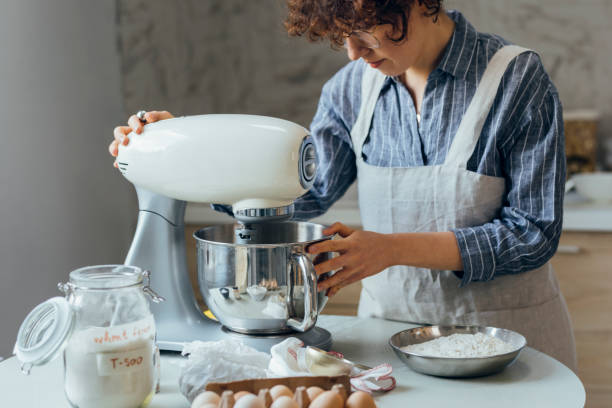 How to use a KitchenAid mixer for cookies?